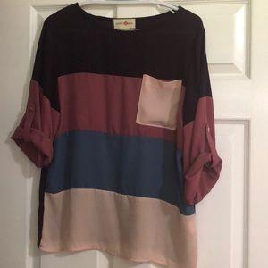 Purple Block Shirt
